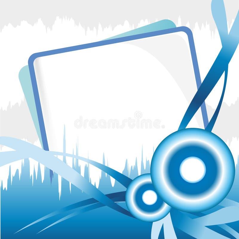 Priorità bassa blu royalty illustrazione gratis