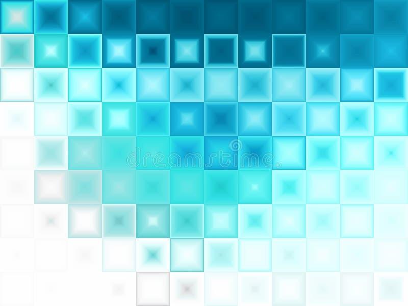 Priorità bassa blu astratta del ghiaccio illustrazione vettoriale