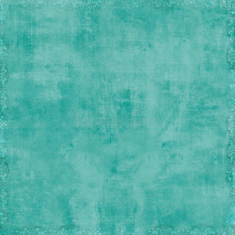 Priorità bassa blu dell'album del Aqua fotografia stock libera da diritti