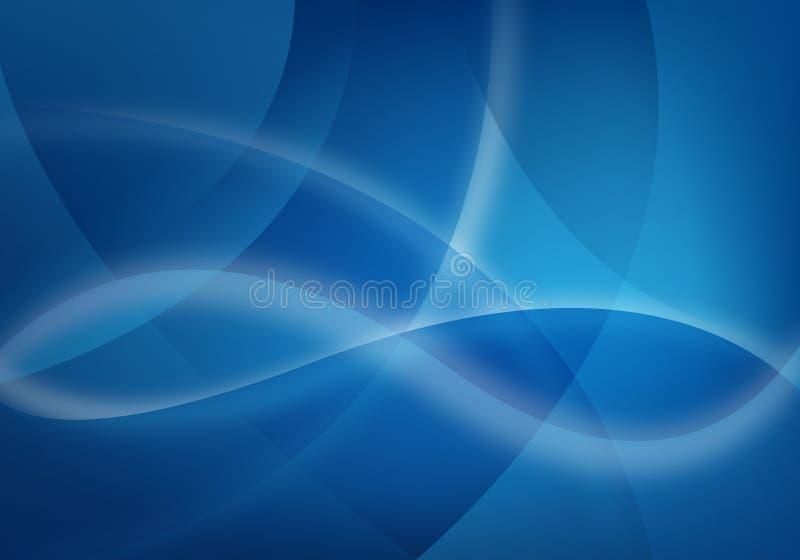 Priorità bassa blu di affari illustrazione vettoriale