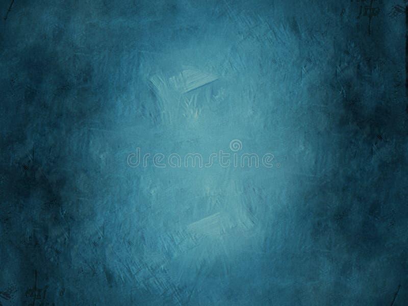 Priorità bassa blu di Grunge royalty illustrazione gratis
