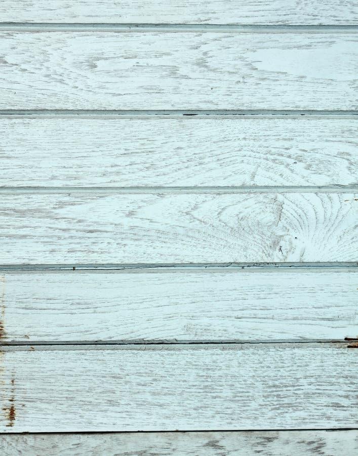 Priorità bassa blu di legno dell'annata fotografia stock