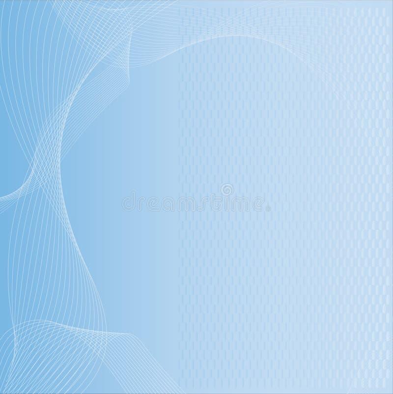 Priorità bassa blu di tecnologia illustrazione vettoriale