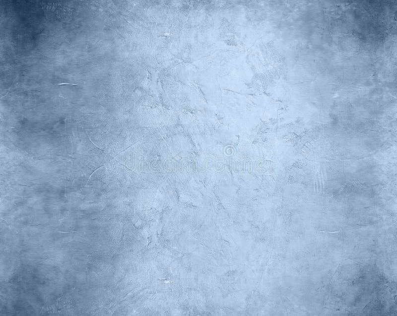 Priorità bassa blu invecchiata fotografie stock