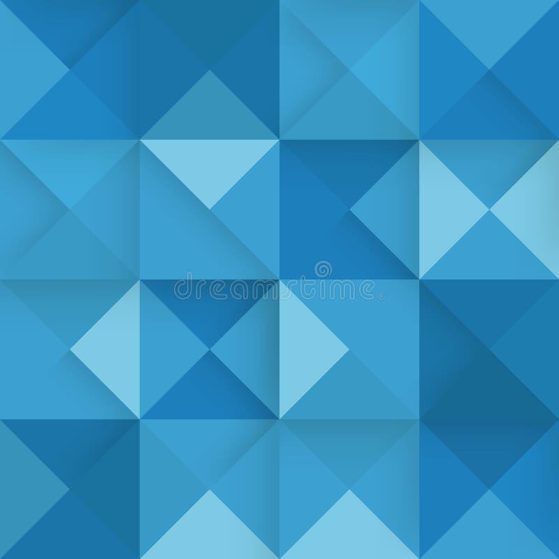 Priorità bassa blu quadrata astratta Illustrazione di vettore royalty illustrazione gratis