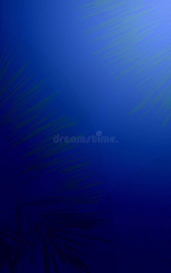 Priorità bassa blu scuro di colore illustrazione di stock