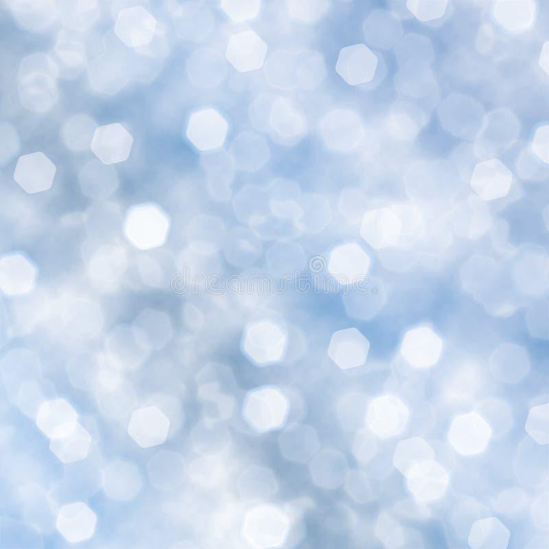 Priorità bassa blu XL della scintilla illustrazione vettoriale
