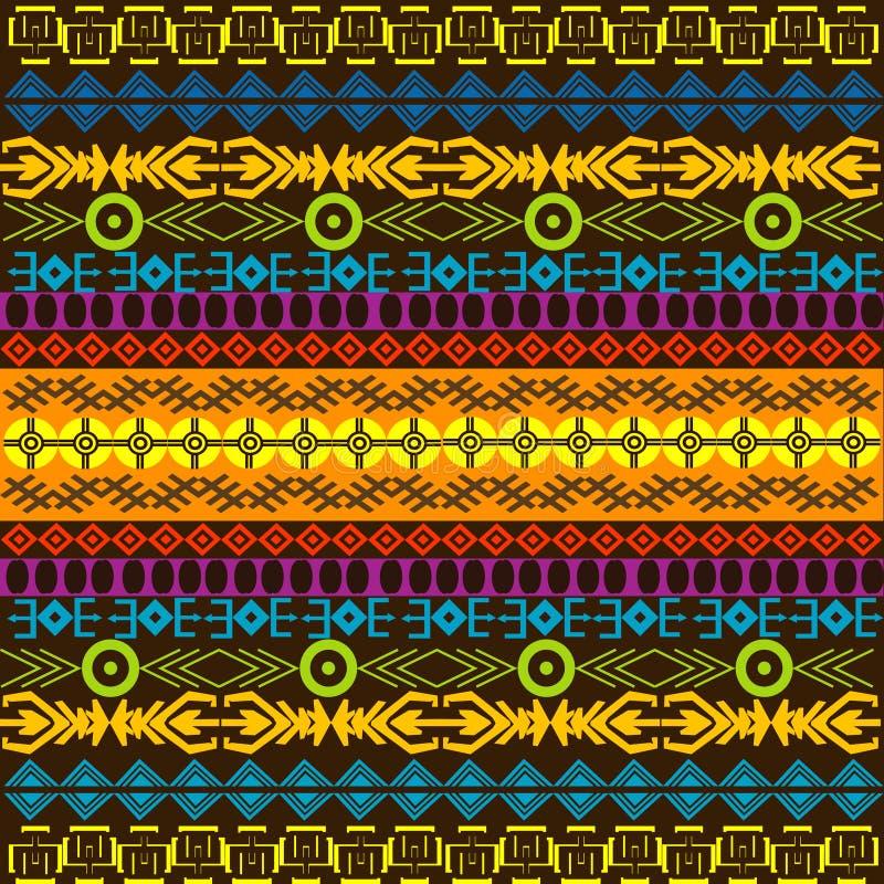 Priorità bassa colorata africana illustrazione vettoriale