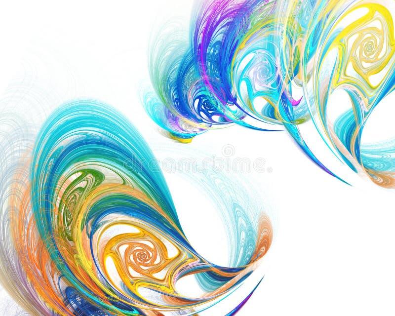 Priorità bassa colourful astratta illustrazione vettoriale