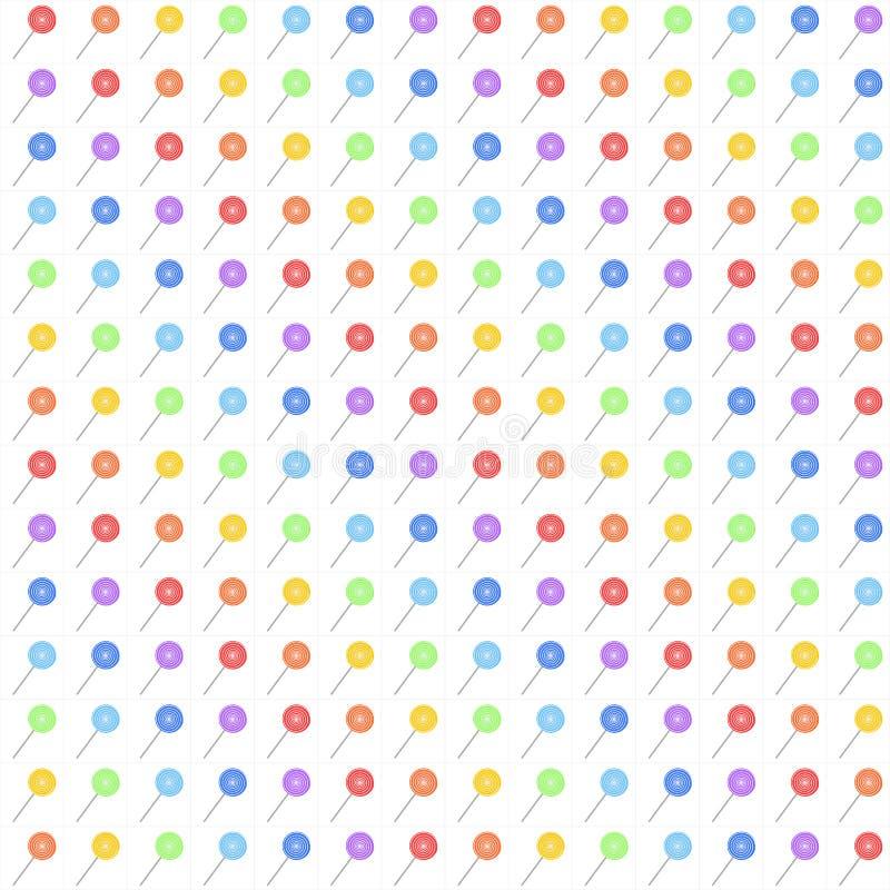Priorità bassa con i lollipops (GRANDI 196) fotografie stock libere da diritti