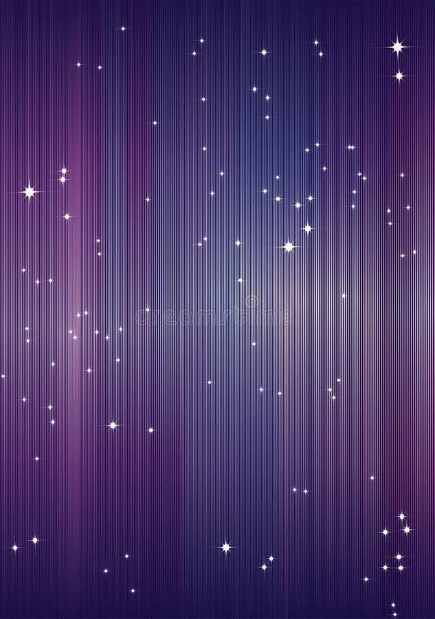 Priorità bassa con le stelle. fotografia stock