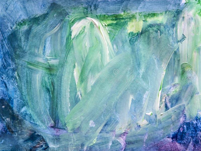 Priorità bassa creativa Bella pittura Struttura astratta Aquar immagine stock