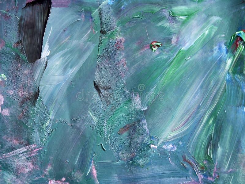 Priorità bassa creativa Bella pittura Struttura astratta Aquar fotografia stock