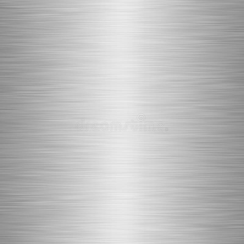 priorità bassa d'acciaio di struttura del metallo illustrazione vettoriale