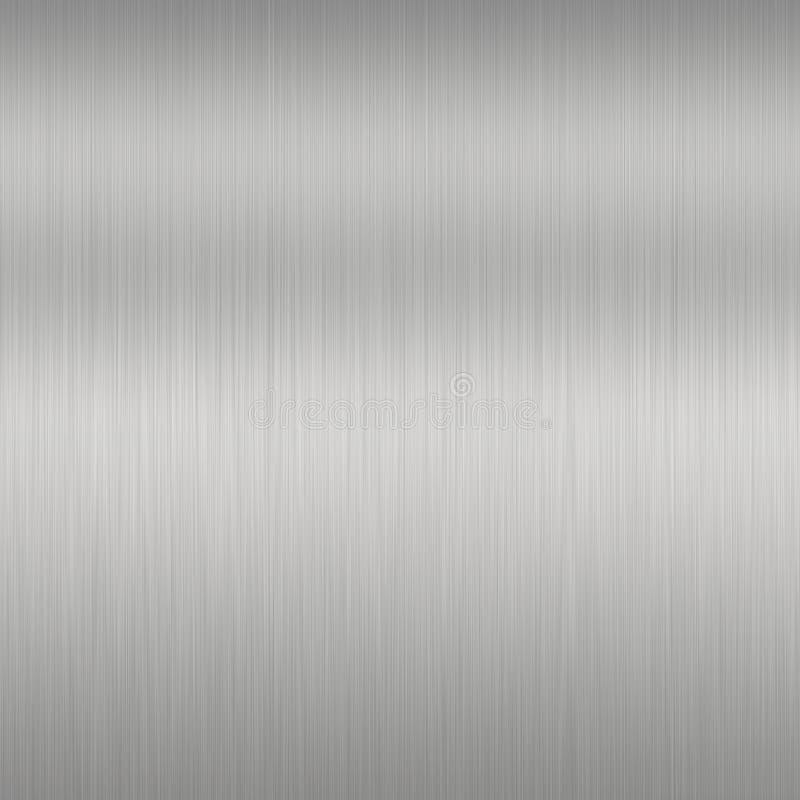 Priorità bassa d'acciaio spazzolata illustrazione vettoriale