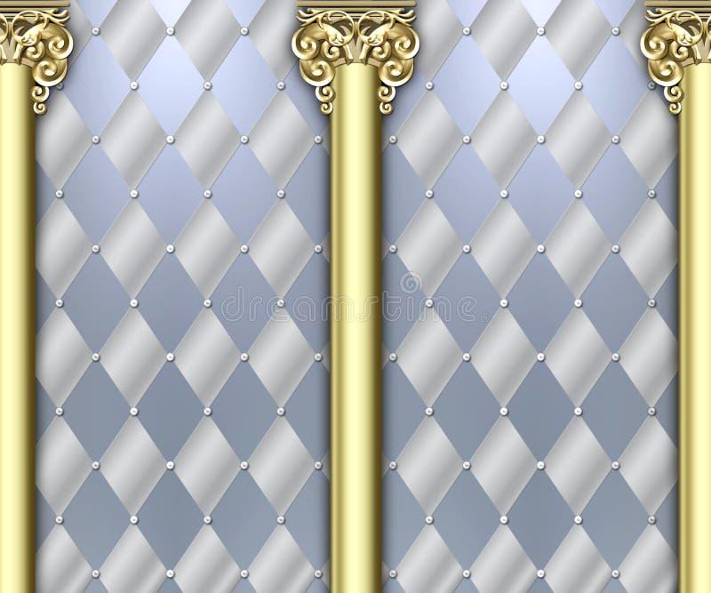 Priorità bassa decorata della colonna royalty illustrazione gratis