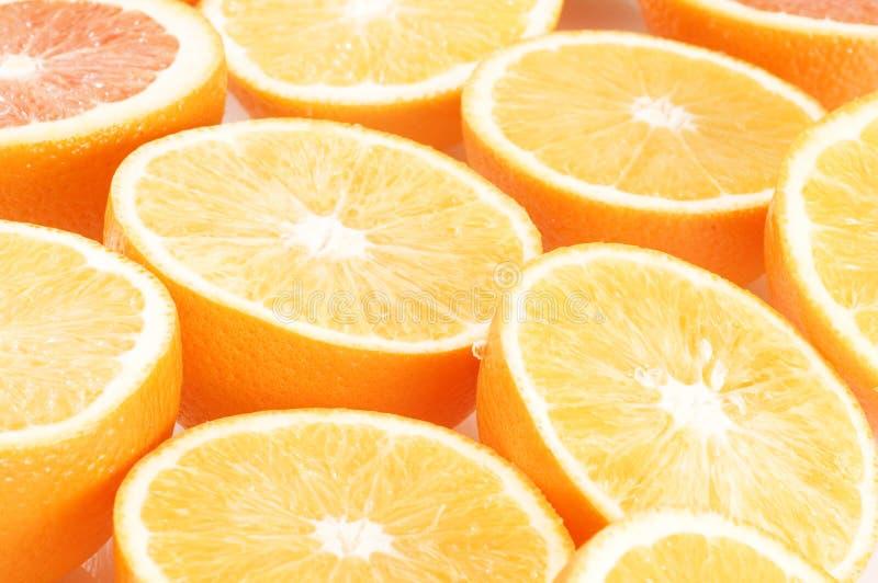 Priorità bassa degli aranci fotografie stock libere da diritti