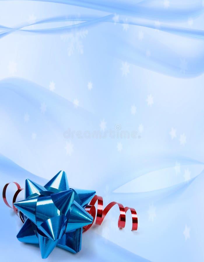Priorità bassa dei fiocchi di neve di inverno royalty illustrazione gratis
