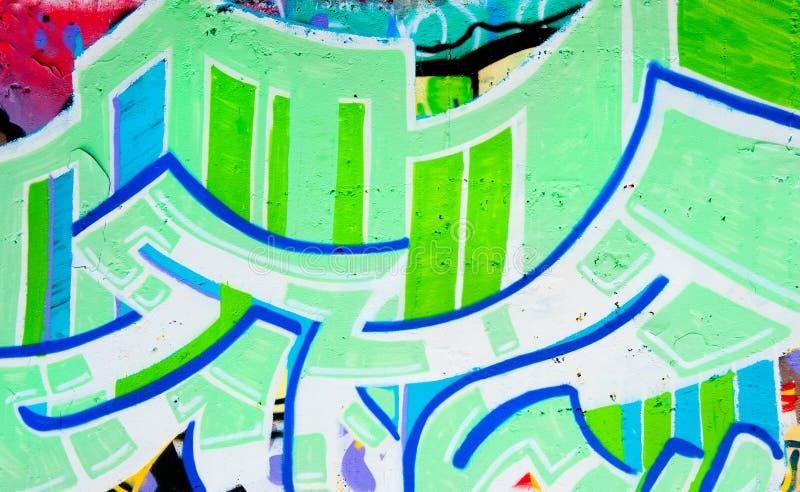 Priorità bassa dei graffiti immagini stock libere da diritti