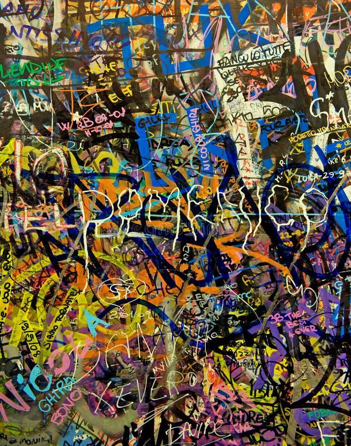 Priorità bassa dei graffiti immagini stock