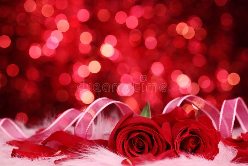 Priorità bassa del biglietto di S. Valentino immagine stock libera da diritti