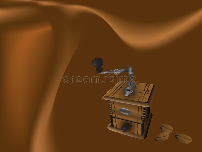 Priorità bassa del caffè illustrazione vettoriale