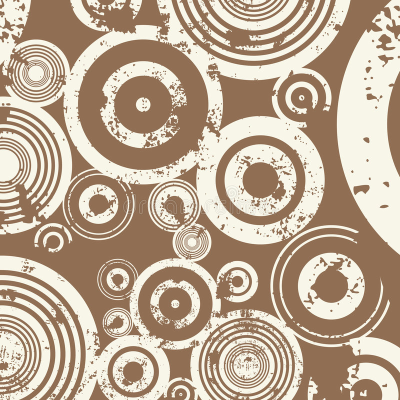 Priorità bassa del cerchio di Grunge illustrazione vettoriale