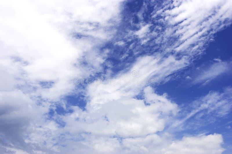 Priorità bassa del cielo nuvoloso fotografia stock libera da diritti