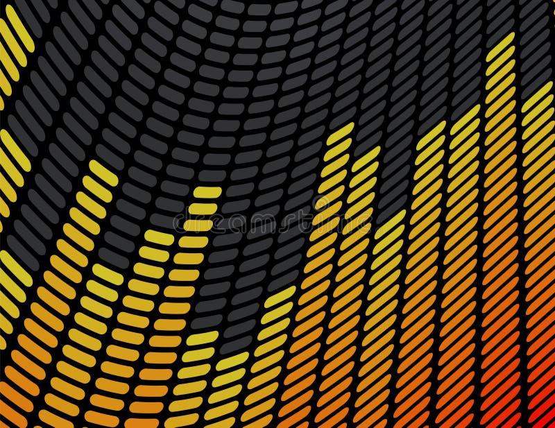 Priorità bassa del compensatore di musica illustrazione di stock