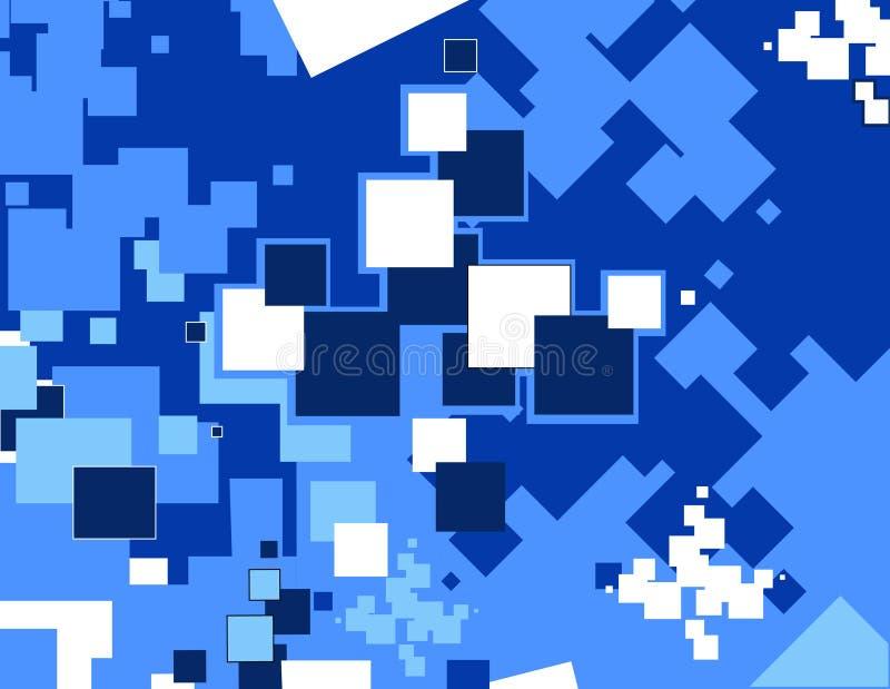 Priorità bassa del cubo illustrazione vettoriale