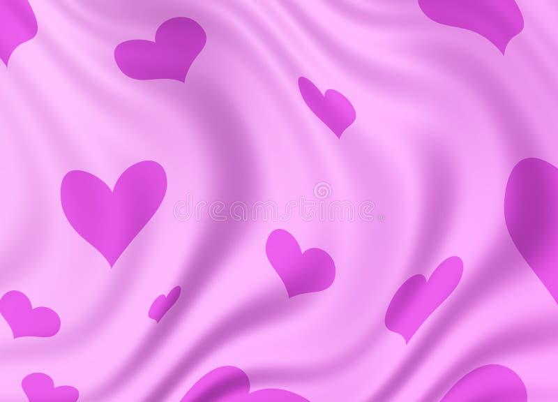 Priorità bassa del cuore royalty illustrazione gratis