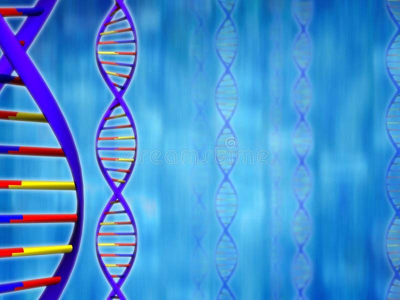 Priorità bassa del DNA (tipo 01) illustrazione vettoriale