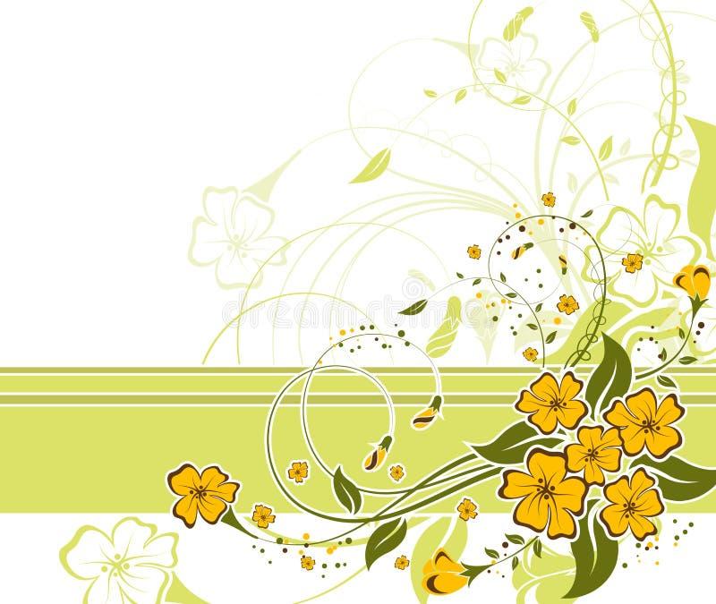 Priorità bassa del fiore illustrazione vettoriale