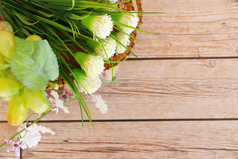 Priorità bassa del fiore fotografia stock