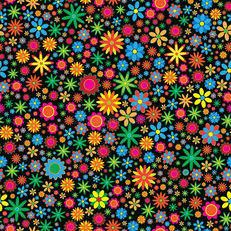 Priorità bassa del fiore di Sesmless illustrazione di stock