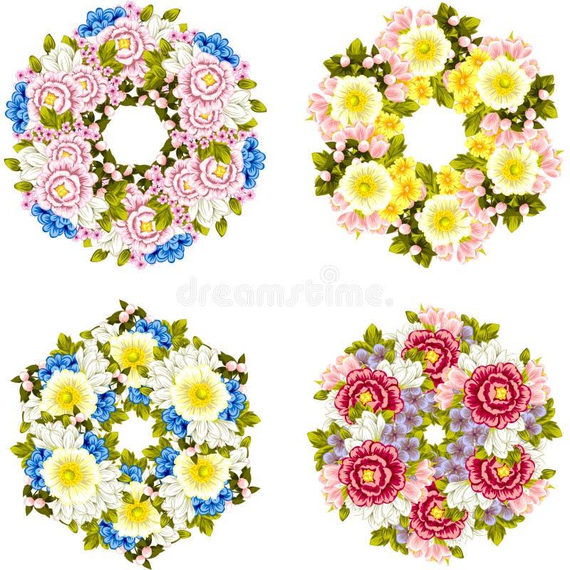 Priorità bassa del fiore fresco immagine stock