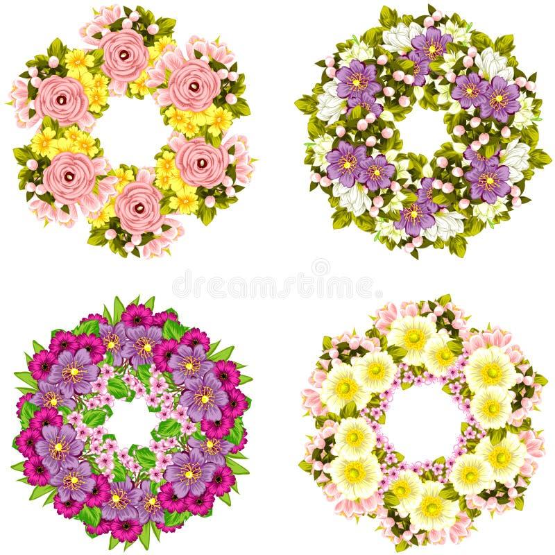 Priorità bassa del fiore fresco fotografie stock