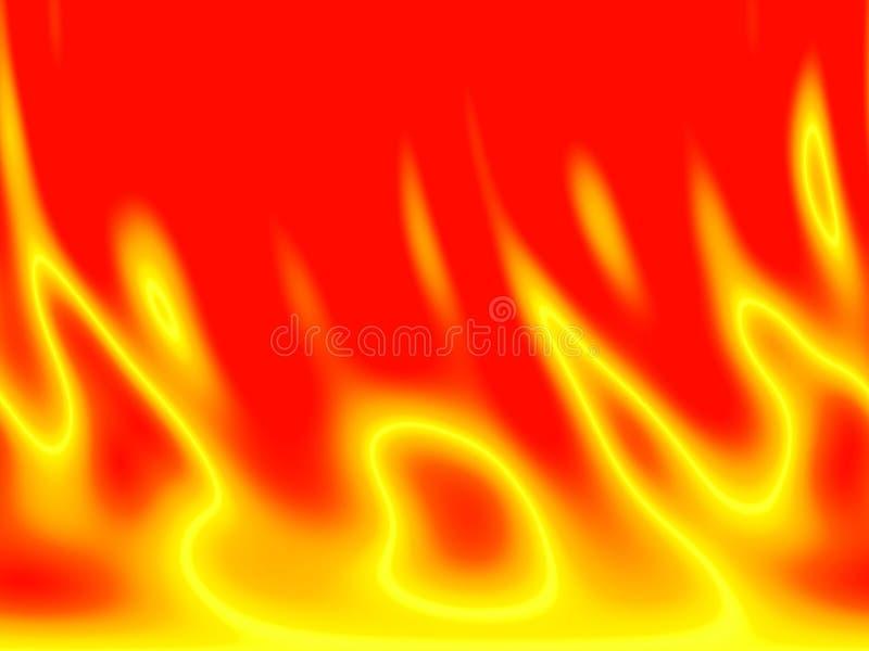 Priorità bassa del fuoco royalty illustrazione gratis