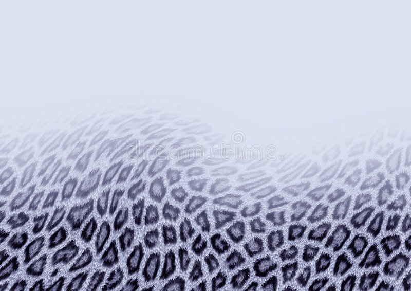 Priorità bassa del leopardo di neve royalty illustrazione gratis