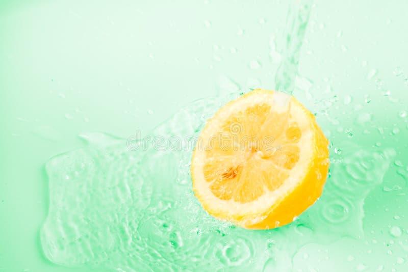 Priorità bassa del limone immagine stock libera da diritti
