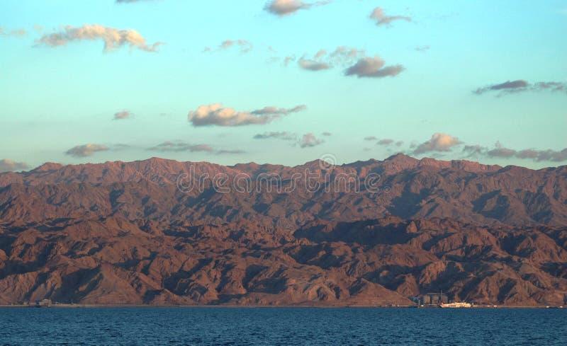 Priorità bassa del Mar Rosso fotografie stock
