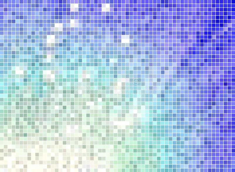 Priorità bassa del mosaico illustrazione di stock