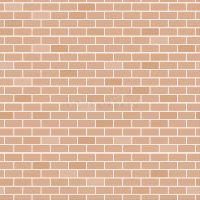 Priorità bassa del muro di mattoni illustrazione vettoriale