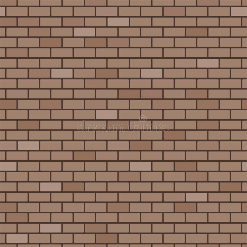 Priorità bassa del muro di mattoni illustrazione di stock