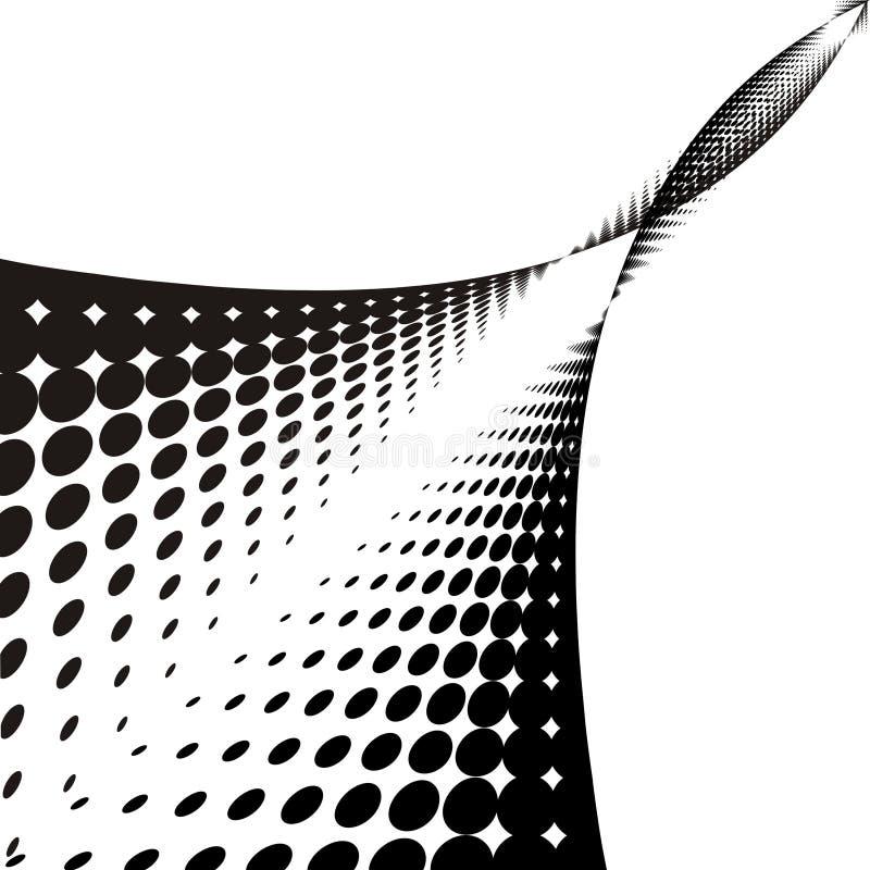 Download Priorità bassa del puntino illustrazione vettoriale. Illustrazione di orizzontale - 3876326