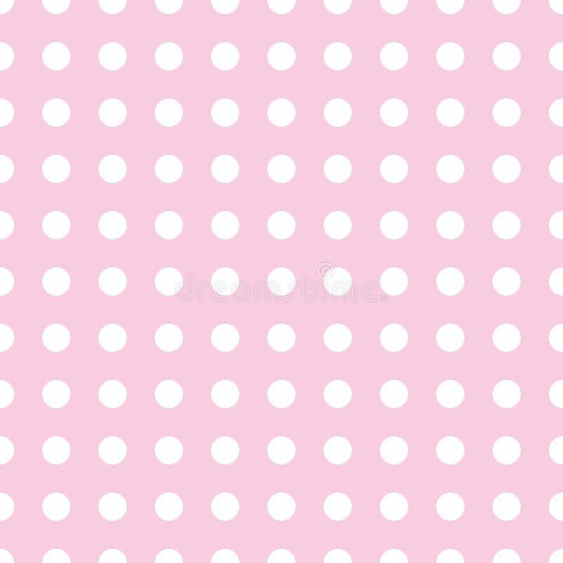 Priorità bassa del puntino di Polka illustrazione vettoriale