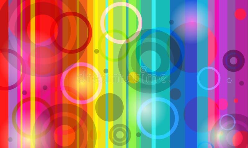 Priorità bassa del Rainbow illustrazione vettoriale