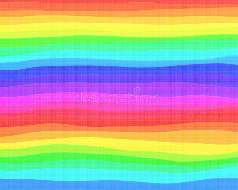 Priorità bassa del Rainbow illustrazione di stock
