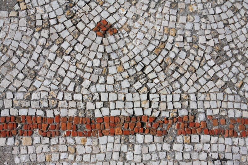 Priorità bassa del reticolo di mosaico, pneumatico - Libano immagini stock
