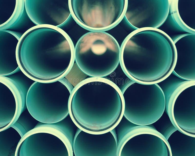 Priorità bassa del tubo del PVC fotografia stock libera da diritti